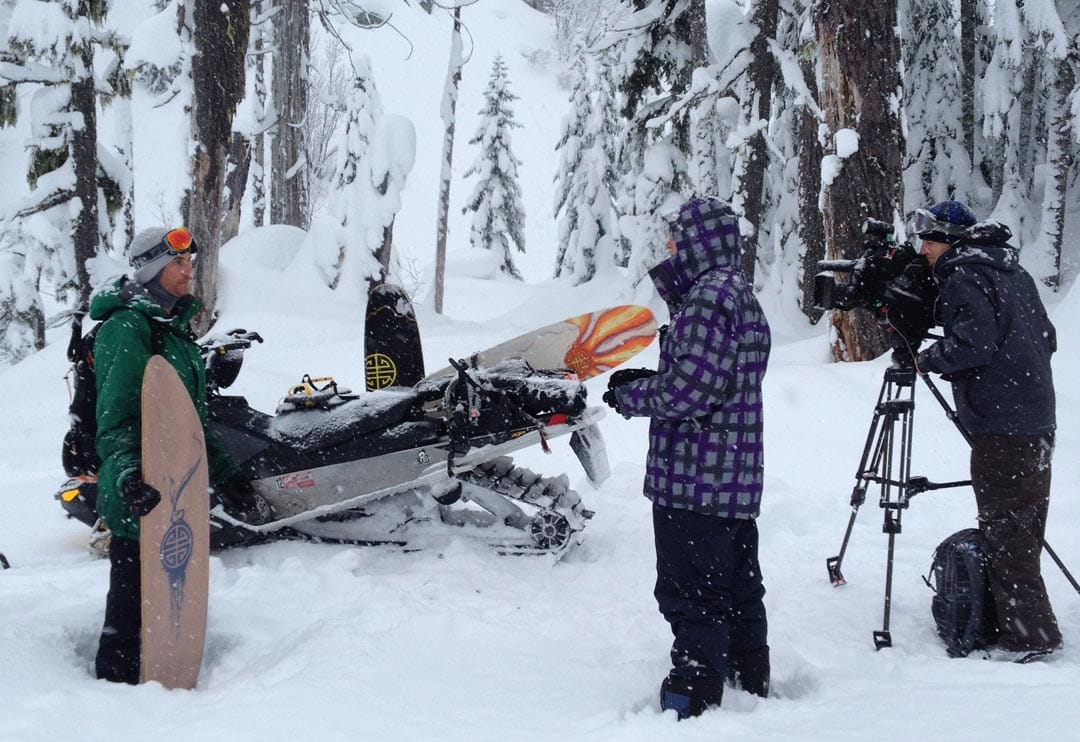 CBC TV Interview with Scotty Arnold