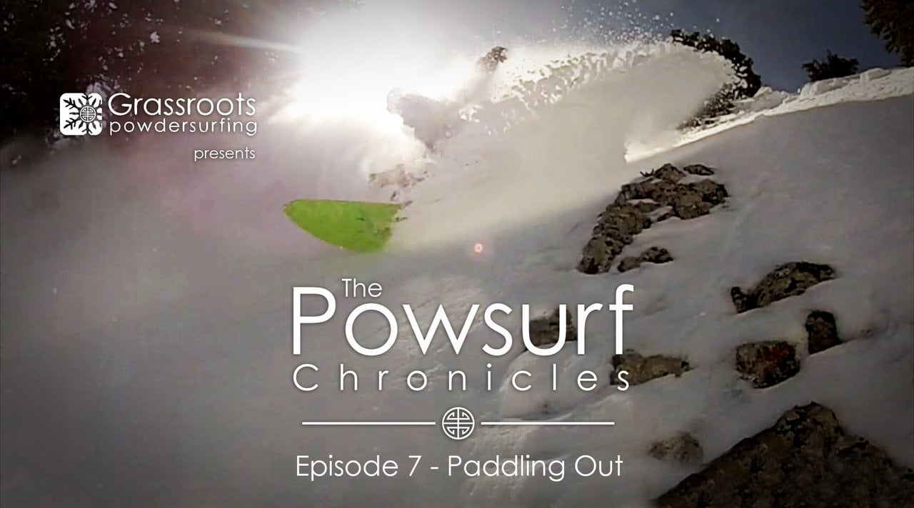 Powsurf Chronicles Episode 7, Paddling Out