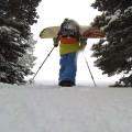 Mountain Approach Kit and Grassroots Powsurfer in action