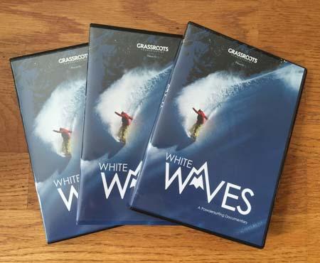 White Waves - The World's First True Binding-free powsurfing documentary film. BluRay DVD.