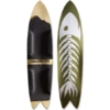 Grassroots Big Phish 150cm 3D Model powsurfer with Fishbone graphic. Handcrafted in Utah.