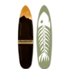 Grassroots Phish 140cm round tail with 3 dimensional topsheet. Surf-inspired shape for maximum float and agility.