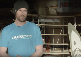 Grassroots Powdersurfing founder Jeremy Jensen talks about his company for a Warren Miller Entertainment Athlete Spotlight.