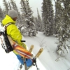 The Mountain Approach Kit is an excellent way to travel in deep snow to get to great powsurfing terrain.