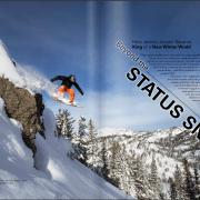 Utah State Magazine Feature Story on Jeremy Jensen as entrepreneur, filmmaker, photographer, athlete, and adjunct professor at Utah State University