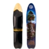 Grassroots Slasher 3D Narrow Model bindingless powsurfer handcrafted in Utah . Tree Graphic