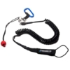 Coil Powsurf Leash with quick-release
