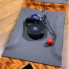 Retractable Powsurf Leash with quick release on powsurfer