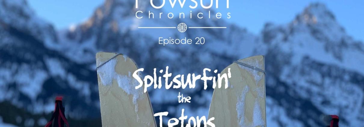 Splitsurf the Tetons graphic