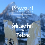 Splitsurf the Tetons graphic