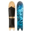 Grassroots Stealth 145cm 3D Powsurfer with Night Pillows Graphic